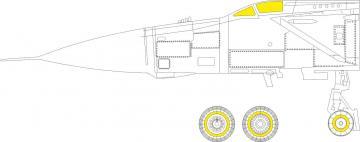 MiG-25PD [ICM] · EDU CX597 ·  Eduard · 1:72