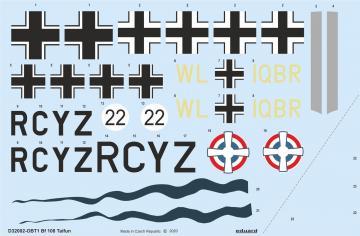 Messerschmitt Bf 108 Taifun [Eduard] · EDU D32002 ·  Eduard · 1:32