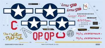 P-51D-5 15th AF [Tamiya] · EDU D32010 ·  Eduard · 1:32