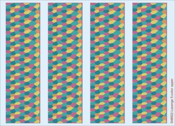 Lozenge 5-color upper · EDU D48022 ·  Eduard · 1:48