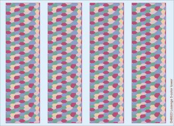 Lozenge 5-color lower · EDU D48023 ·  Eduard · 1:48