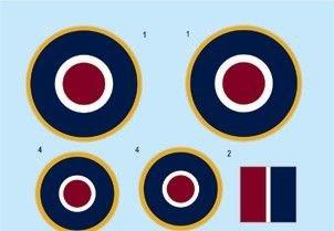 Hawker Tempest - Roundels late [Eduard] · EDU D48032 ·  Eduard · 1:48