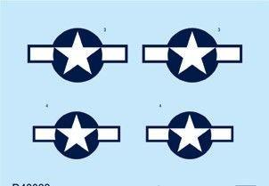 P-51D - National insignia [Eduard] · EDU D48033 ·  Eduard · 1:48