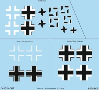 Focke Wulf Fw 190 A-5 - National insignia [Eduard] · EDU D48039 ·  Eduard · 1:48