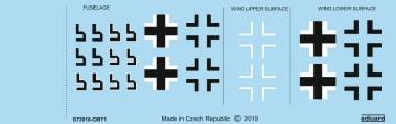 Focke Wulf Fw 190 A-8 - National insignia [Eduard] · EDU D72016 ·  Eduard · 1:72