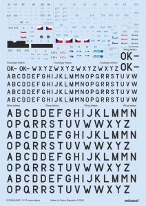 Z-37 - Stencils, code letters & labels [Eduard] · EDU D72029 ·  Eduard · 1:72