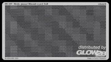 Gitter/Mesh, Gauze/Rhomb type 1 8x8 · EDU E00107 ·  Eduard