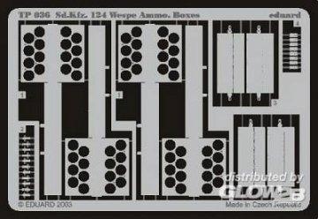 Sd.Kfz.124 Wespe Ammo.Boxes · EDU ETP35036 ·  Eduard · 1:35