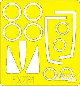 F-100C [Trumpeter] · EDU EX281 ·  Eduard · 1:48
