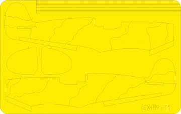 Spitfire camo scheme A [Eduard] · EDU EX469 ·  Eduard · 1:48