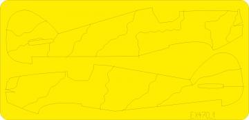 Hurricane camo scheme A [Airfix] · EDU EX470 ·  Eduard · 1:48