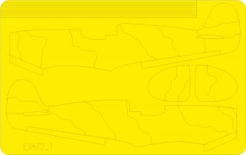 Spitfire camo scheme B [Airfix] · EDU EX472 ·  Eduard · 1:48