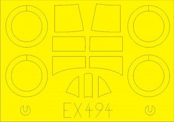 Gladiator Mk.I [Merit] · EDU EX494 ·  Eduard · 1:48