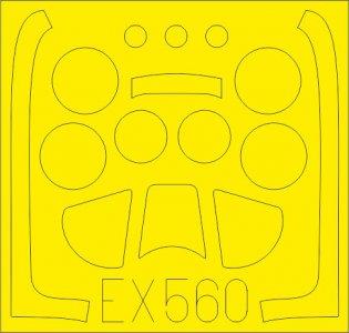 North American P-51-D Mustang [Airfix] · EDU EX560 ·  Eduard · 1:48