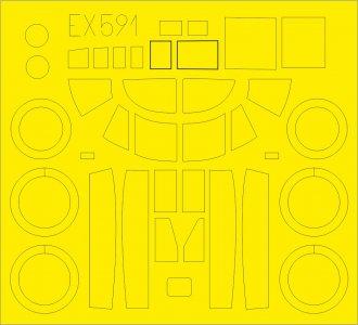 A-26B Invader [Revell] · EDU EX591 ·  Eduard · 1:48