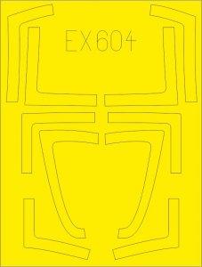F/A-18B/D [Kinetic] · EDU EX604 ·  Eduard · 1:48