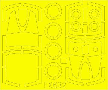 F-101B Voodoo - TFace [Kitty Hawk] · EDU EX632 ·  Eduard · 1:48