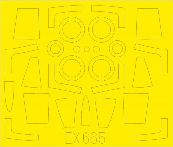 F-104G Starfighter - TFace [Kinetic] · EDU EX665 ·  Eduard · 1:48