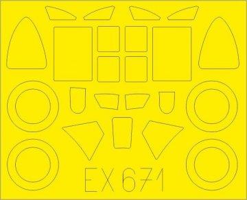 Bloch MB.151 [Dora Wings] · EDU EX671 ·  Eduard · 1:48