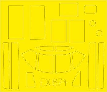 B-26B-50 Invader [ICM] · EDU EX674 ·  Eduard · 1:48