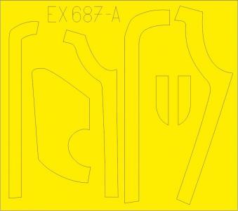 B-17G - Antiglare panels (DL & BO production) [HKM] · EDU EX687 ·  Eduard · 1:48