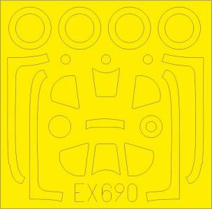 P-51D-5 Mustang - TFace [Airfix] · EDU EX690 ·  Eduard · 1:48