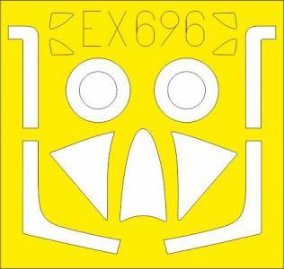 Hunter F.4/F.5 [Airfix] · EDU EX696 ·  Eduard · 1:48