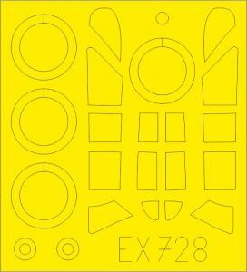 P-43 [Dora Wings] · EDU EX728 ·  Eduard · 1:48