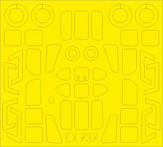 HH-34J - TFace [Trumpeter] · EDU EX737 ·  Eduard · 1:48
