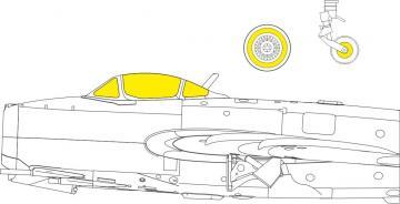MiG-15 - TFace [Bronco] · EDU EX763 ·  Eduard · 1:48