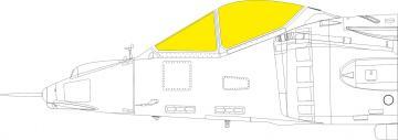 AV-8A Harrier [Kinetic Models] · EDU EX765 ·  Eduard · 1:48