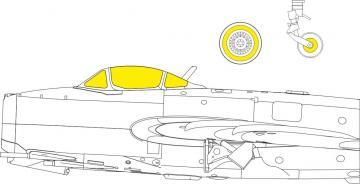 MiG-15bis - TFace [Bronco Models] · EDU EX776 ·  Eduard · 1:48