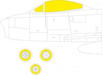 Sabre F.4 - TFace [Airfix] · EDU EX784 ·  Eduard · 1:48