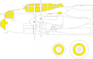 Lancaster B Mk.I [HKM] · EDU EX792 ·  Eduard · 1:48