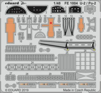 U-2 / Po-2 [ICM] · EDU FE1004 ·  Eduard · 1:48