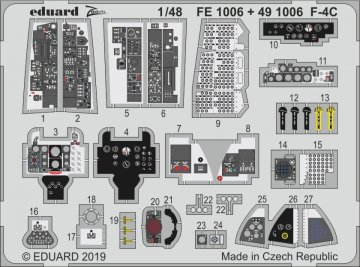 Phantom F-4C [Academy] · EDU FE1006 ·  Eduard · 1:48
