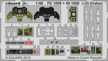 J-35 Draken [Hasegawa] · EDU FE1008 ·  Eduard · 1:48