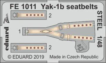 Yak-1b - Seatbelts STEEL [Zvezda] · EDU FE1011 ·  Eduard · 1:48