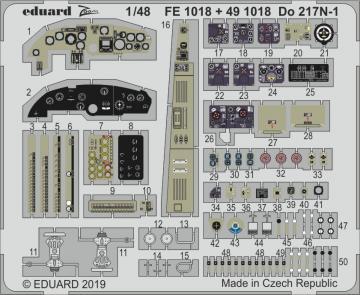 Dornier Do 217 N-1 [ICM] · EDU FE1018 ·  Eduard · 1:48