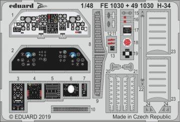 H-34 [Gallery Models] · EDU FE1030 ·  Eduard · 1:48
