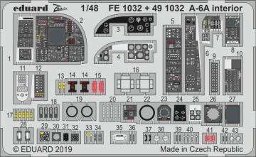 A-6A - Interior [HobbyBoss] · EDU FE1032 ·  Eduard · 1:48