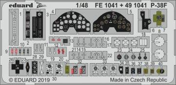 P-38F Lightning [Tamiya] · EDU FE1041 ·  Eduard · 1:48