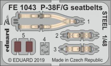 P-38F/G Lightning - Seatbelts STEEL [Tamiya] · EDU FE1043 ·  Eduard · 1:48