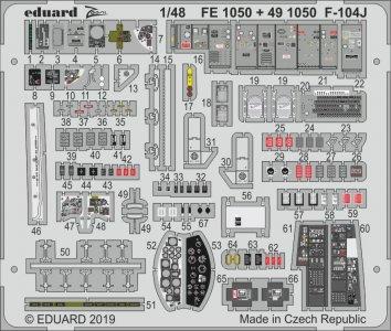 F-104J Starfighter [Kinetic] · EDU FE1050 ·  Eduard · 1:48