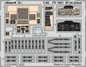 W-3A Sokol [Answer] · EDU FE1061 ·  Eduard · 1:48