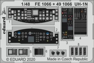 UH-1N Twin Huey [Kitty Hawk] · EDU FE1066 ·  Eduard · 1:48