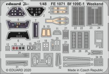 Messerschmitt Bf 109 E-1 - Weekend [Eduard] · EDU FE1071 ·  Eduard · 1:48