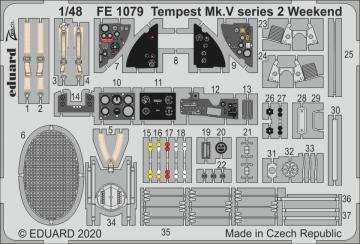 Tempest Mk.V Series 2 - Weekend [Eduard] · EDU FE1079 ·  Eduard · 1:48