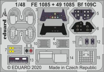 Messerschmitt Bf 109C [Modelsvit] · EDU FE1085 ·  Eduard · 1:48