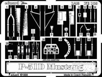 P-51 D Mustang · EDU FE109 ·  Eduard · 1:48